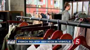 Nashville fashion industry experiences growth [Video]
