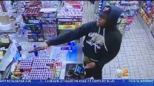 Woodland Hills Gas Station Robbed At Gunpoint [Video]