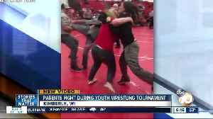 Video shows parents brawl during youth wrestling event [Video]