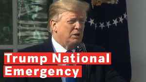 News video: Donald Trump Declares National Emergency To Get Border Wall Funding