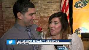 Lakefront Brewery hosts weddings on Valentine's Day [Video]