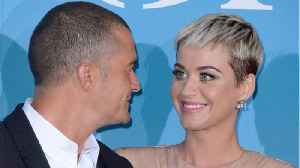Katy Perry And Orlando Bloom Post Diamond Ring Selfies [Video]