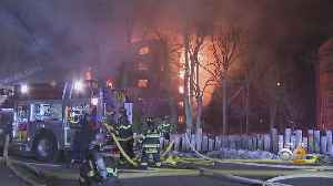Residents Review Wreckage Of Homes After Massive Fort Lee Building Blaze [Video]
