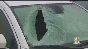 Piece Of Ice Shatters Car Window And Injures 6-Year-Old [Video]
