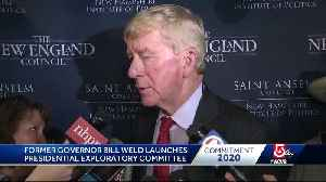 Bill Weld launches presidential exploratory committee [Video]