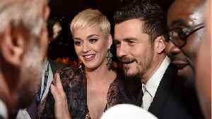 Katy Perry and Orlando Bloom are engaged, and the ring is SO Katy Perry [Video]