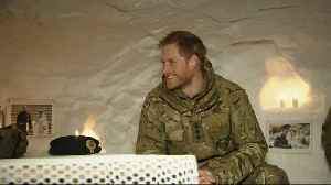 Prince Harry Visits Igloo In Norway [Video]
