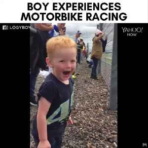 Little boy's excitement is so contagious [Video]