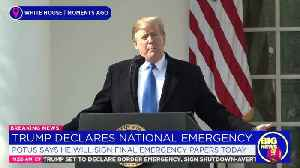 How Trump's Border Wall Differs From Past National Emergency Declarations [Video]