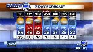 More sunshine and 50s in Denver later today as heavy snow hits mountains tonight [Video]