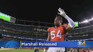 Brandon Marshall Says He'll Land On His Feet After Being Released From The Denver Broncos [Video]