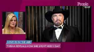 Trisha Yearwood Says Husband Garth Brooks Is 'So Much More Romantic' Than Her [Video]
