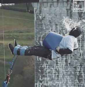 Fly through the sky attached to only a bungee cord [Video]