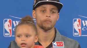 Steph Curry Admits He REGRETS Bringing Riley Curry To The Podium! [Video]