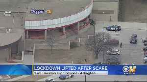 Lockdown At High School In Arlington Lifted After Report Of Possible Weapon [Video]