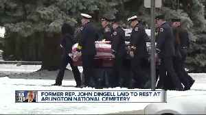 John Dingell laid to rest at Arlington National Cemetery [Video]