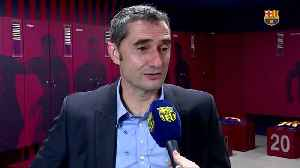 Barcelona extend Valverde contract until 2020 [Video]