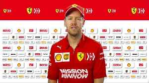 Vettel has high hopes for Ferrari in 2019 [Video]