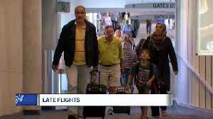 Another delayed flight? Airlines ranked by lateness [Video]