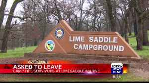 Camp Fire Survivors Face Evictions at Lime Saddle Campground [Video]
