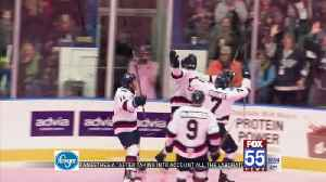 K-Wings Outlast Komets on Pink Ice [Video]