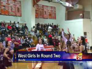 West Girls Basketball Area Playoff Preview [Video]