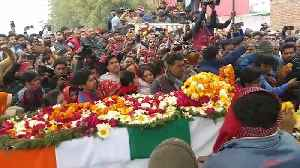 Mortal remains of CRPF jawans reach home amid tears, anger and anti-Pakistan slogans [Video]