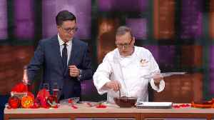 Jacques Torres Creates A Chocolate Violin [Video]