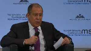 Watch: Lavrov mistakenly calls British defence secretary 'minister of war' [Video]