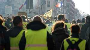 'Yellow Vest' Protests Continue In France For The 14th Consecutive Week [Video]