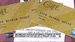 Dearborn woman warning others after becoming the victim of a travel scam [Video]