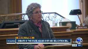 Debate in the state House over sex education bill [Video]