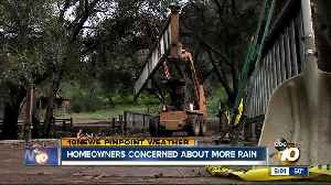 Homeowners clean up after massive storm [Video]