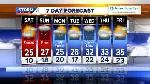 Another round of snow on the way this weekend [Video]