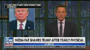 "Compilation of media ""fat-shaming"" the president [Video]"