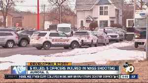 5 killed, 5 officers injured in mass shooting [Video]