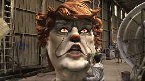 Trump 'IT' Sculpture To Appear In France's Nice Carnival [Video]