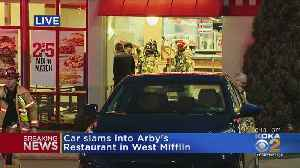 Car Slams Into Arby's Restaurant In West Mifflin [Video]