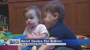 FDA Approves Heart Device For Babies With Heart Defect [Video]