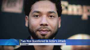 'Empire' Star Jussie Smollet's Attackers Questioned By Police [Video]