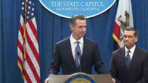Newsom and Becerra announce plan to sue Trump over national emergency [Video]