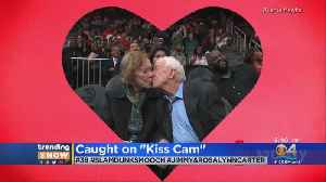Trending: Former President Caught On Kiss Cam [Video]