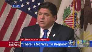 J.B. Pritzker Responds To Aurora Shooting That Killed 5 People [Video]