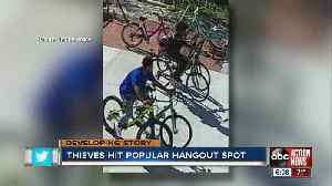 Armature Works installs new surveillance cameras after bicycle rack thefts [Video]