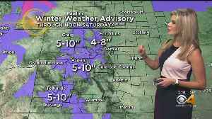 More Mountain Snow Coming [Video]