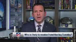 NFL Network Insider Ian Rapoport highlights four players likely to receive franchise tag [Video]
