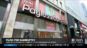 Payless Declares Bankruptcy, Closing U.S. Stores [Video]