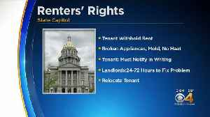 State Lawmakers Propose Renters Rights [Video]