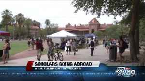 UA home to 8 of this year's Fulbright U.S. Scholars [Video]