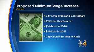 Denver City Council To Vote On Proposed Minimum Wage Raise [Video]